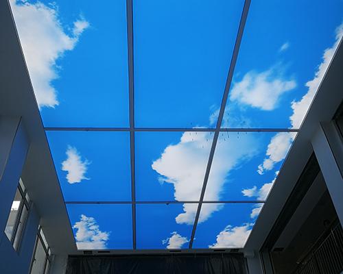 UV软膜吊顶工程案例