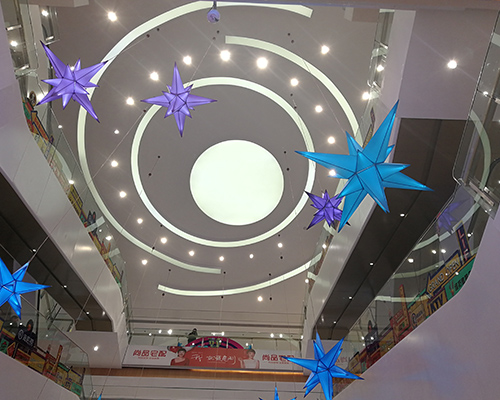 商场B级软膜天花吊顶